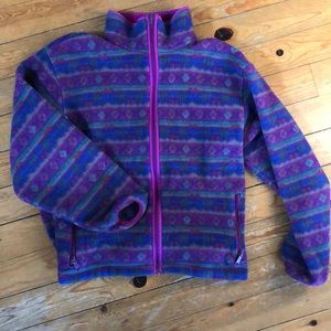 LL Bean full zip fleece